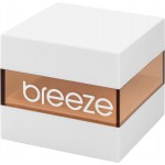 BREEZE Hermosa Crystal Two Tone Stainless Steel Bracelet 712151.5
