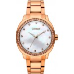 BREEZE Glamcy Crystals Rose Gold Stainless Steel Bracelet 211081.8
