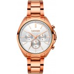 BREEZE Glow Raider Rose Gold Stainless Steel Chronograph 212031.4
