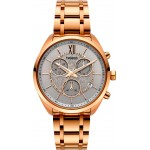 BREEZE Luxade Rose Gold Stainless Steel Chronograph 212061.5