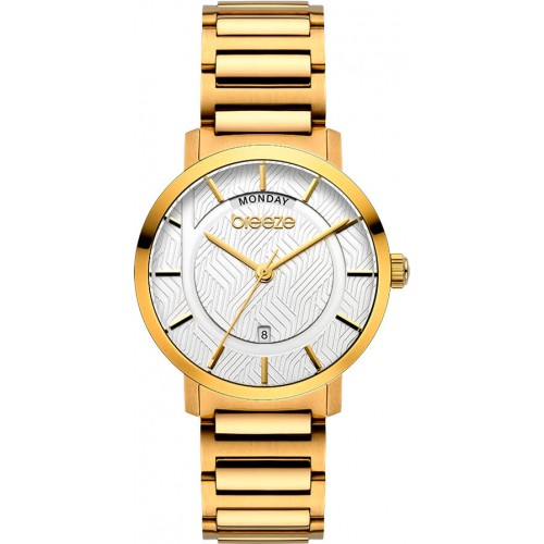 BREEZE Superfect Gold Stainless Steel Bracelet 212081.2