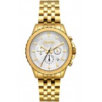 BREEZE Invernia Gold Stainless Steel Chronograph 212131.1
