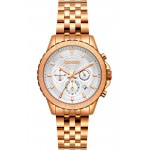 BREEZE Invernia Rose Gold Stainless Steel Chronograph 212131.4