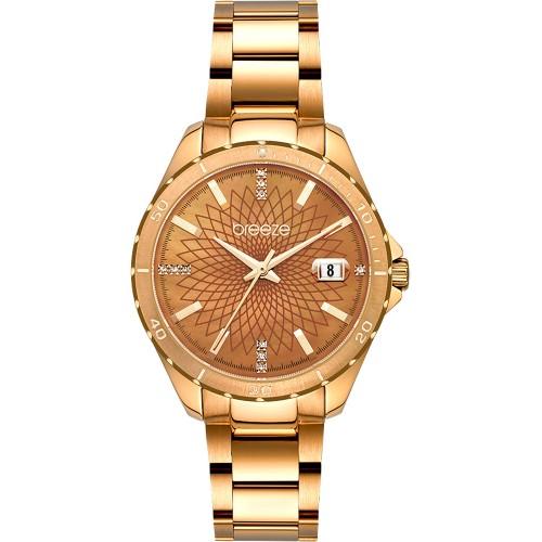 BREEZE MantaRay Rose Gold Stainless Steel Bracelet 212141.4
