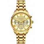 BREEZE Myrina Gold Stainless Steel Chronograph 212211.1