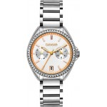 BREEZE Royalisse Crystals Silver Stainless Steel Bracelet 612161.1