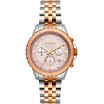 BREEZE Invernia Two Tone Stainless Steel Chronograph 712131.4
