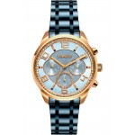 BREEZE Myrina Blue Stainless Steel Chronograph 812211.3