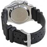 CITIZEN Αυτόματο ρολόι Promaster με μαύρο λουράκι και ημερομηνία NY0086-16L