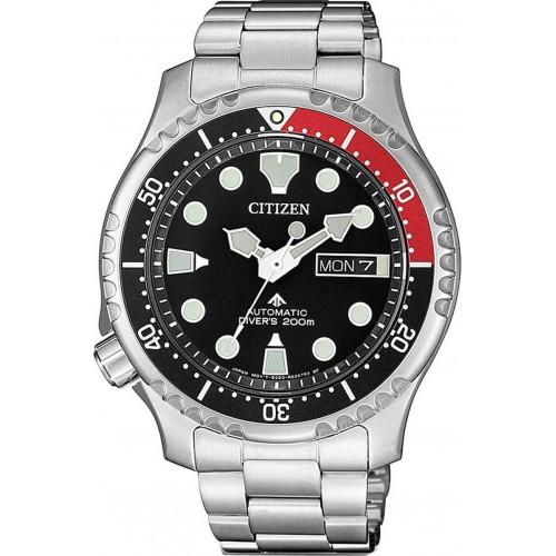 CITIZEN Αυτόματο ρολόι Promaster με μπρασελέ και ημερομηνία NY0085-86EE