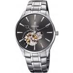 FESTINA Men's Automatic Silver Stainless Steel Bracelet F6847/2