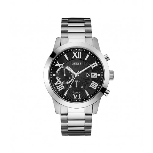 GUESS Atlas Chronograph Stainless Steel Bracelet W0668G3