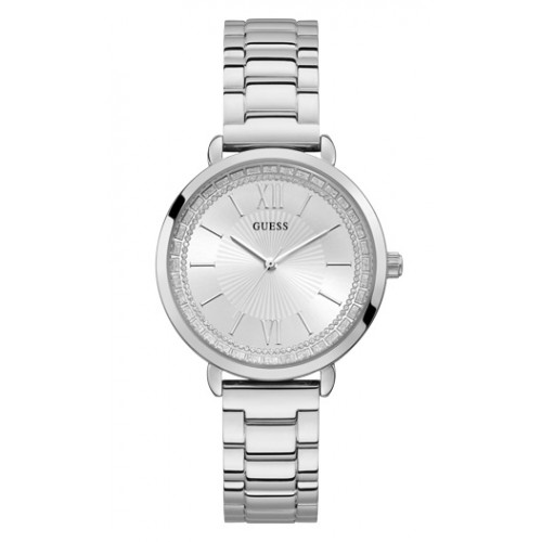 GUESS Crystals Stainless Steel Bracelet W1231L1