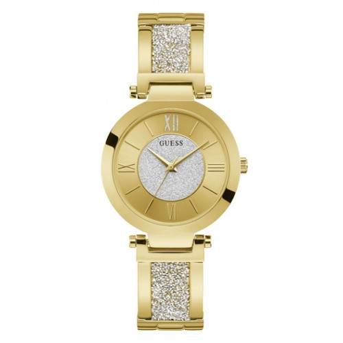 GUESS Gold Stainless Steel Bracelet W1288L2