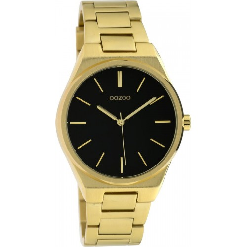 OOZOO Timepieces Gold Stainless Steel Bracelet C10342