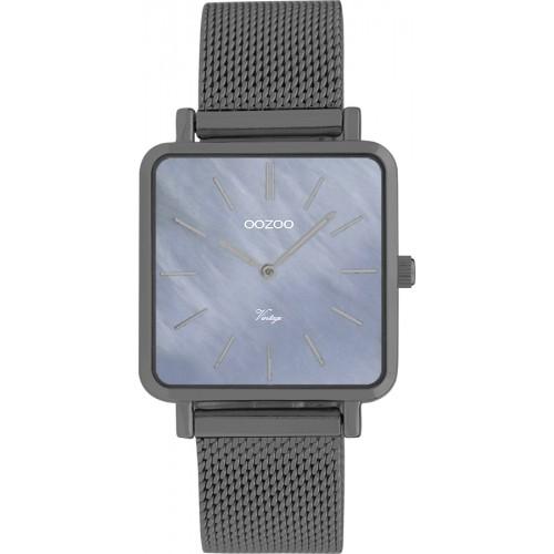 OOZOO  Timepieces Vintage Grey Metal Bracelet C9849