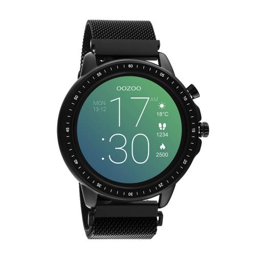 OOZOO Smartwatch Black Stainless steel Bracelet Q00309