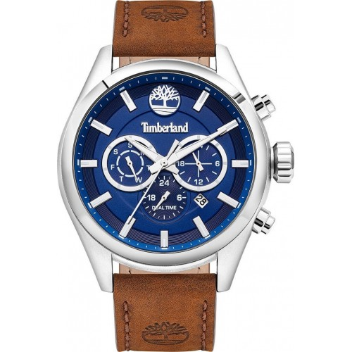 TIMBERLAND Ashmont Dual Time Brown Leather Strap TBL16062JYS/03