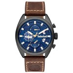 TIMBERLAND Seabrook Chronograph Brown Leather Strap TBL15640JLU/03