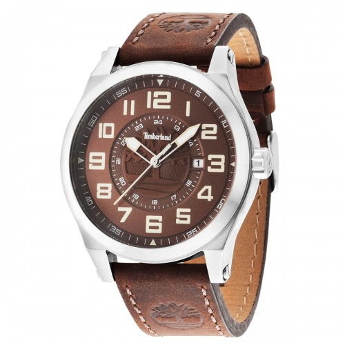 TIMBERLAND Tilden brown leather strap