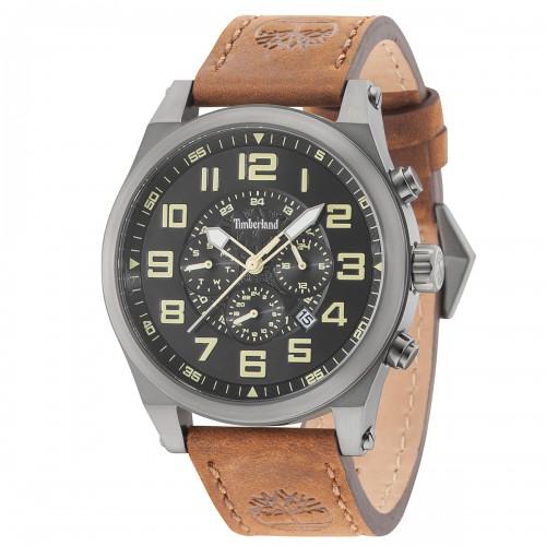 TIMBERLAND Tilden brown leather strap TBL15247JSU02
