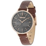 TIMBERLAND Falmouth Rose Gold Brown Leather Strap TBL15261MSR-61