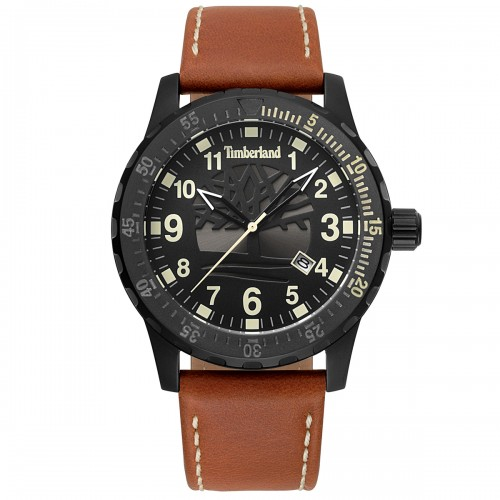 TIMBERLAND Clarksburb brown leather strap TBL15473JLB02