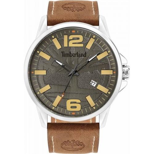 TIMBERLAND Bernardston Ρολόι Ανδρικό Καφέ Δερμάτινο λουράκι TBL15905JYS/61-G