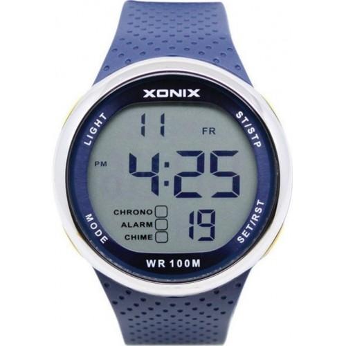 XONIX Blue Rubber Strap GJ-006