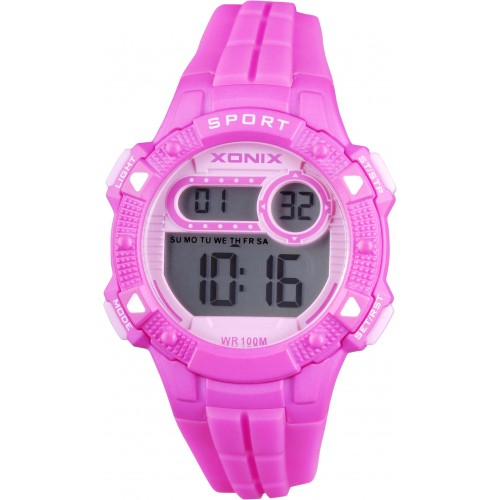 XONIX Kids Purple Rubber Strap IZ-001