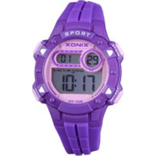 XONIX Kids Purple Rubber Strap IZ-004