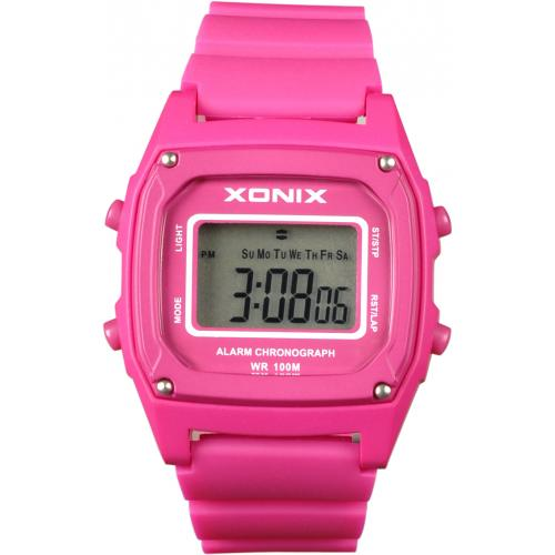 XONIX Pink Rubber Strap N28-005