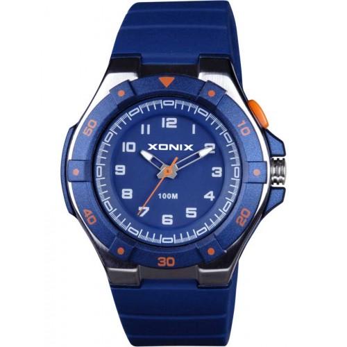 XONIX Blue Rubber Strap OZ-006