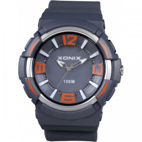 XONIX Grey Rubber Strap QZ-003