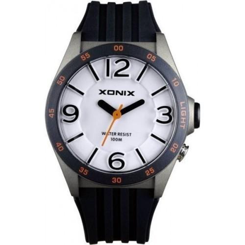 XONIX Black Rubber Strap WY-005