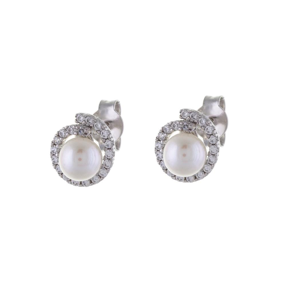 Σκουλαρίκια Με Μαργαριτάρια 104da300c26