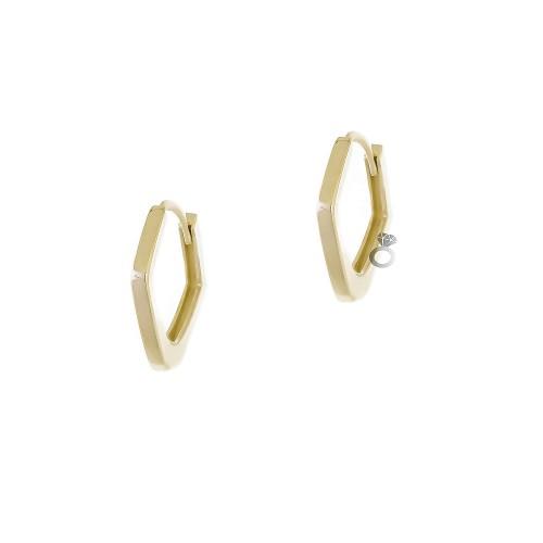 Σκουλαρίκια Γυναικεία Χρυσά 14κ