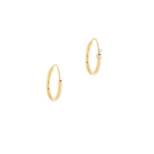 Σκουλαρίκια Κρίκοι (1,1 εκ διάμετρος)